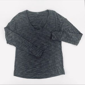 Lululemon Athletica Women's Long Sleeve Shirt Top